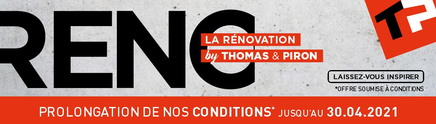 La Rénovation by Thomas & Piron
